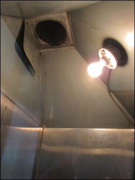 Gas Stove Enclosure